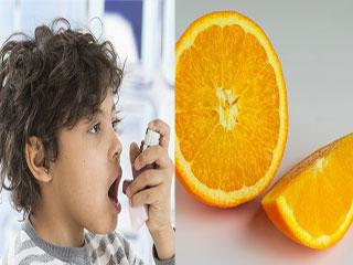 अस्थमा से ग्रस्त बच्चों के लिए खतरनाक है संतरा!