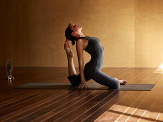 Practice Bikram yoga regularly and reduce stress