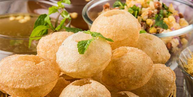 This is how you make lip-smacking pani puri at home