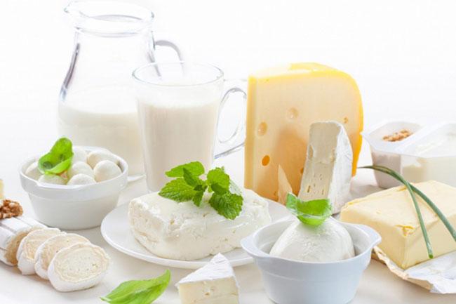 दूध से बनी चीजें