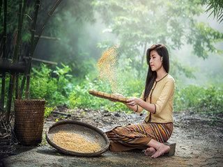 चावल का छिलका भूसी नहीं, है सुपर फूड!