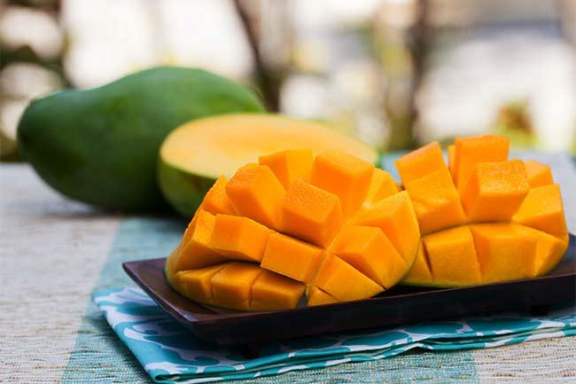 Mango Mask for dry skin