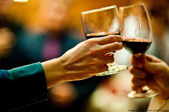 शराब पीना