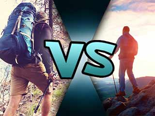 What is the difference between hiking and trekking?