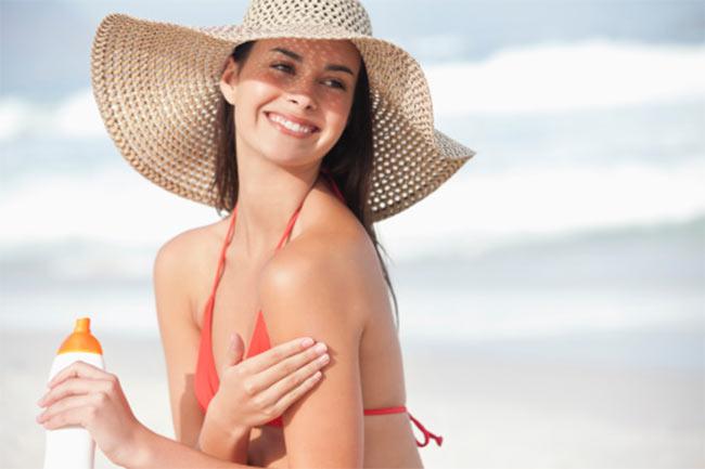 Proteja sua pele do pó e do sol