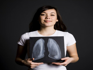 Cigarette smoke block self-healing process of lungs, Study