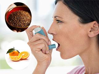 अस्थमा से बचाव में मददगार आहार