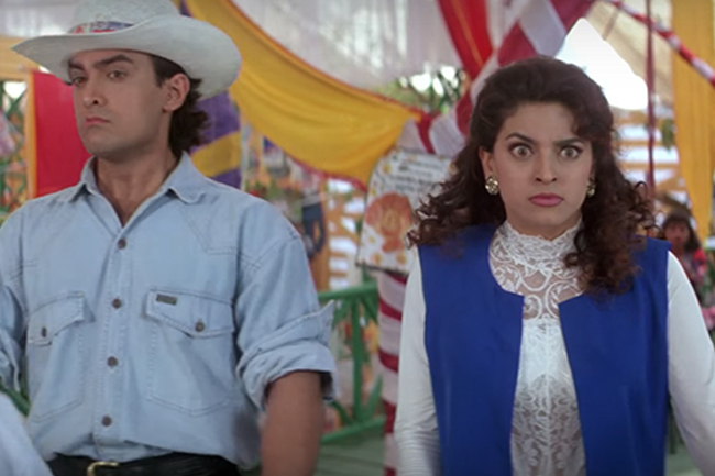 Aamir and Juhi don't really like each other