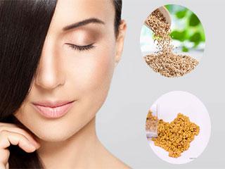 बालों को प्राकृतिक रूप से सुंदर बनाते हैं ये 4 बीज