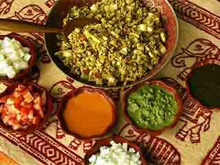 Healthy bhel puri recipe