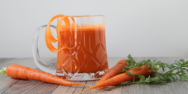 carrot juice in hindi