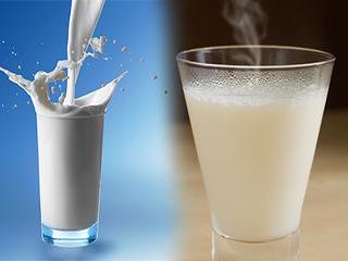 ठंडा या गर्म, बीमारियों के अनुसार पीएं दूध