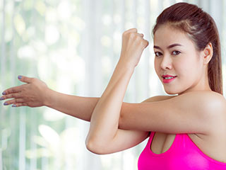 Workout to strengthen your arms without weights