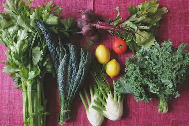 लहसुन और सब्जियां
