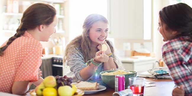 Teen eating guide