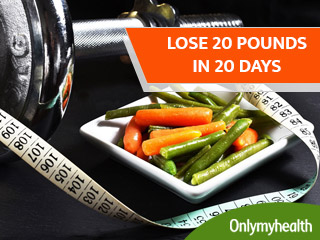 How to Lose 20 Pounds in 20 Days