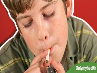अगर बच्चे में दिखें ये 3 लक्षण, तो समझें वो पीने लगा है सिगरेट