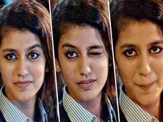 प्रिया प्रकाश ने खोला राज, बताया आई मेकअप करने का सही तरीका