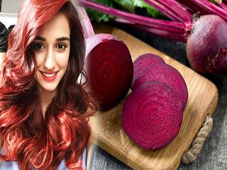घर पर बनाएं चुकंदर का पेस्ट, बालों को मिलेगा नेचुरल Red शेड