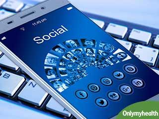 Adolescents show less depressive symptoms on social media