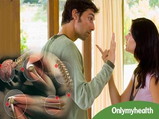 गठिया और डायबिटीज के रोगियों के लिए सही नहीं है पार्टनर से झगड़ना