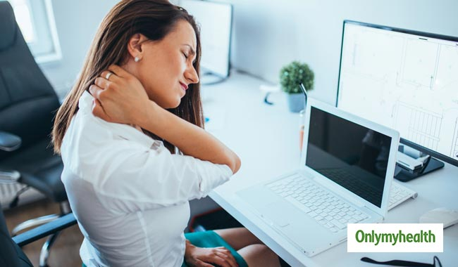 Yoga for neck and shoulders that you can do at your work