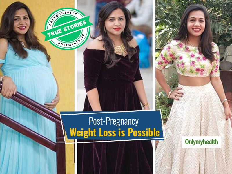 From 82 Kgs To 55, This New Mom's Weight Loss Journey Included Battling Postpartum Depression