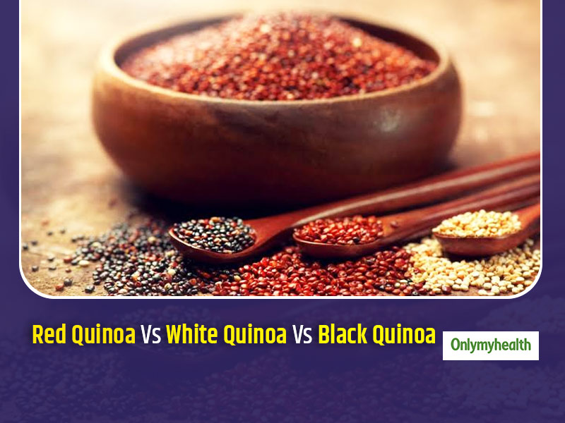 Red Quinoa Vs Black Quinoa Vs White Quinoa: Which One Is The Healthiest?