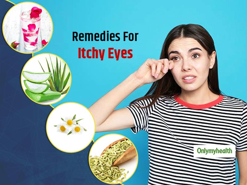Itchy Eyes? Don't Rub Them, Try These Home Remedies