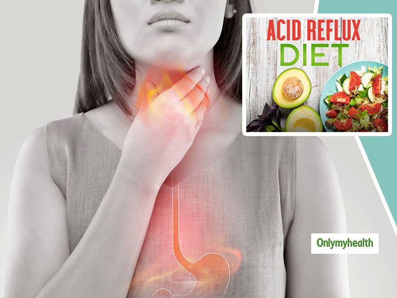 Diet To Treat Or Sooth Pain Caused Due To Acid Reflux