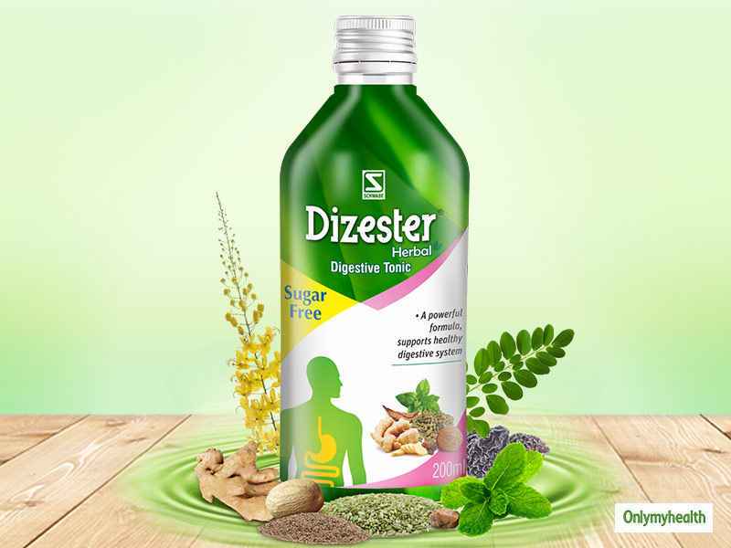 Fix Your Digestive Health Issues With Schwabe's Dizester Herbal