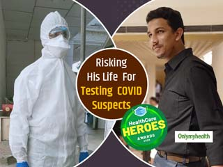 HealthCare Heroes Awards: Imran Shaikh Spent Ramzan In A PPE Collecting 100 Covid19 Samples A Day