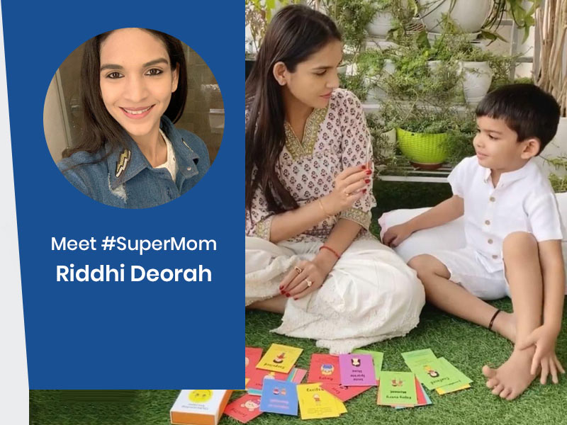 #SuperMom: Meet Riddhi Deorah Inspiring Many Mothers On Taking Care Of Children At Home During Lockdown