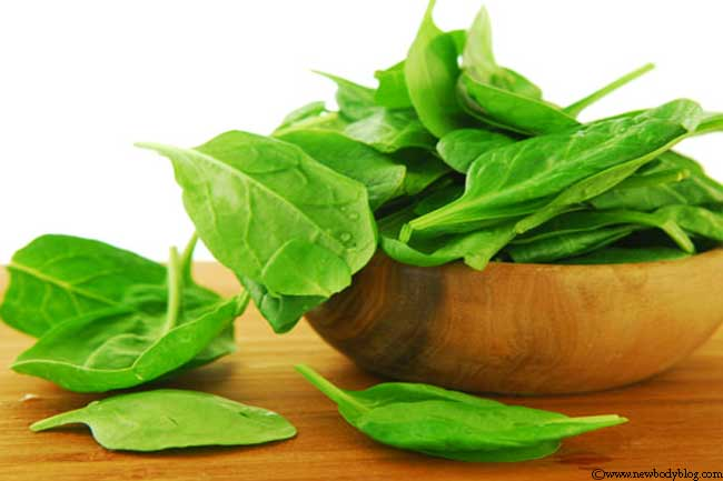 Spinach saved Popeye