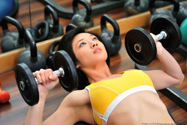 Lift Heavier Weights to Burn Fat Faster