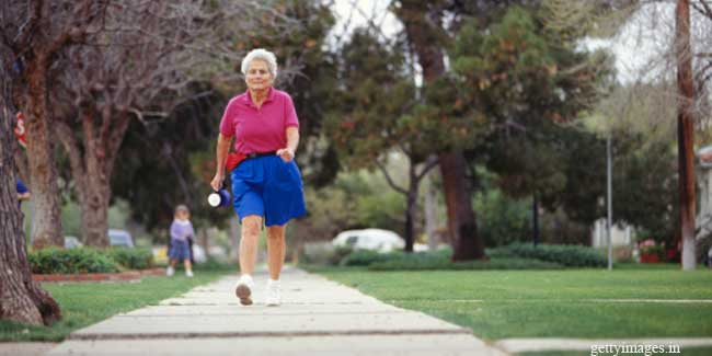 Brisk Walk Cuts Dementia Risk