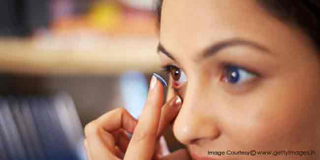 Let Contact Lenses Not Be a Hassle to Your Faddish Eye Make-Up