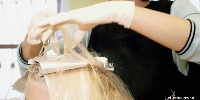 Health risks of hair colouring