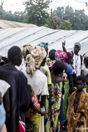 WHO helps the Central African Republic in time of Crisis