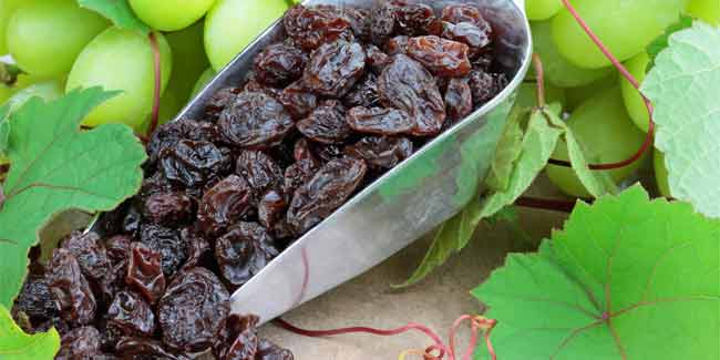 Health Benefits of Raisins Revealed