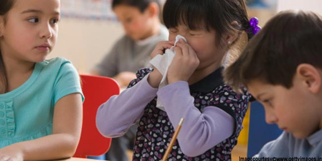 Allergies on the Rise among Children