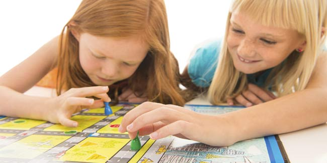 Children Can Learn Math while Playing Board Games