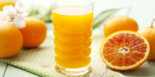 Gulp Down Orange Juice not Only For Taste but to Keep Cancer at Bay