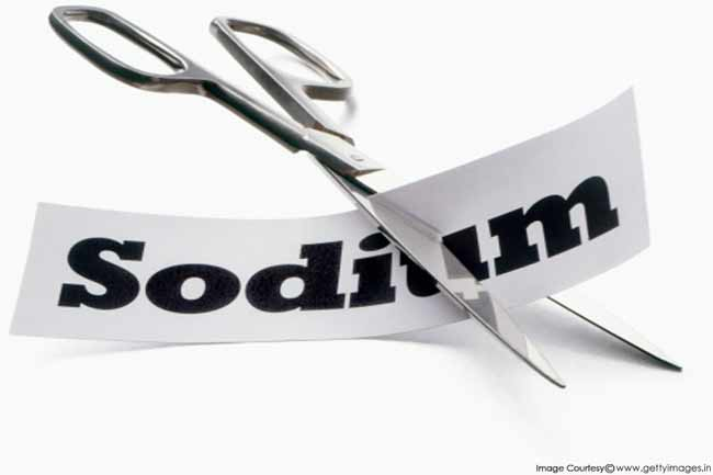 Avoid Sodium Rich Diet