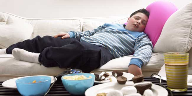 If You Are a Teenage Boy who Sleeps Less, You will be Fat