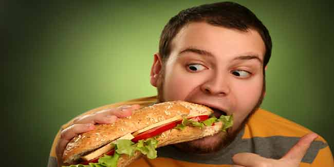 Obese Men in Love with Food are at Health Risk