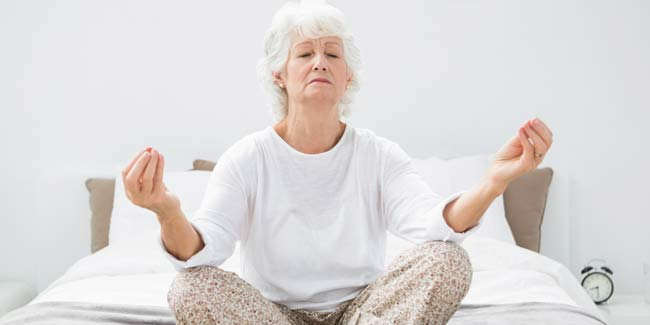 Yoga during Menopause may not Lessen Bothersome Hot Flashes but Helps Treat Insomnia