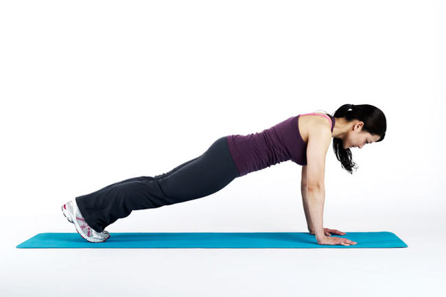 Plank Exercise for 30 sec