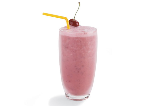 Cherry Vanilla Smoothie