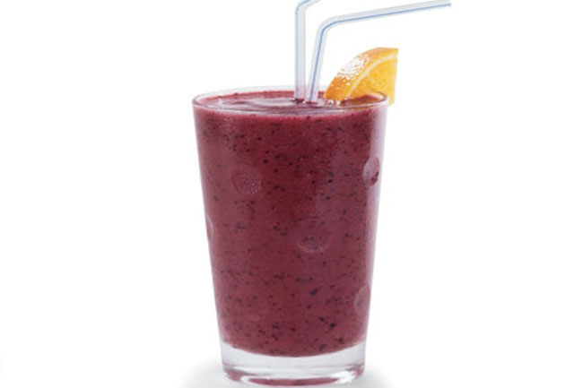 Purple Mango Smoothie